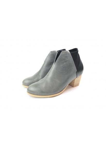 [The Deep] 深海主題鞋Benthodesmus-叉尾深海帶魚-藍/黑-撞色踝靴