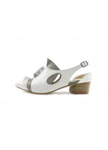 [The Deep] 深海主題鞋Cliopsis-海天使-白/灰-特殊立體造型涼鞋