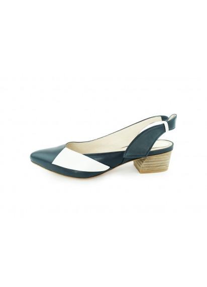 [The Deep] 深海主題鞋-海中知更鳥-藍/白-雙色涼鞋